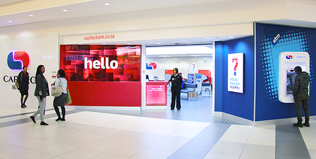 Capitec's simple banking customer service solution