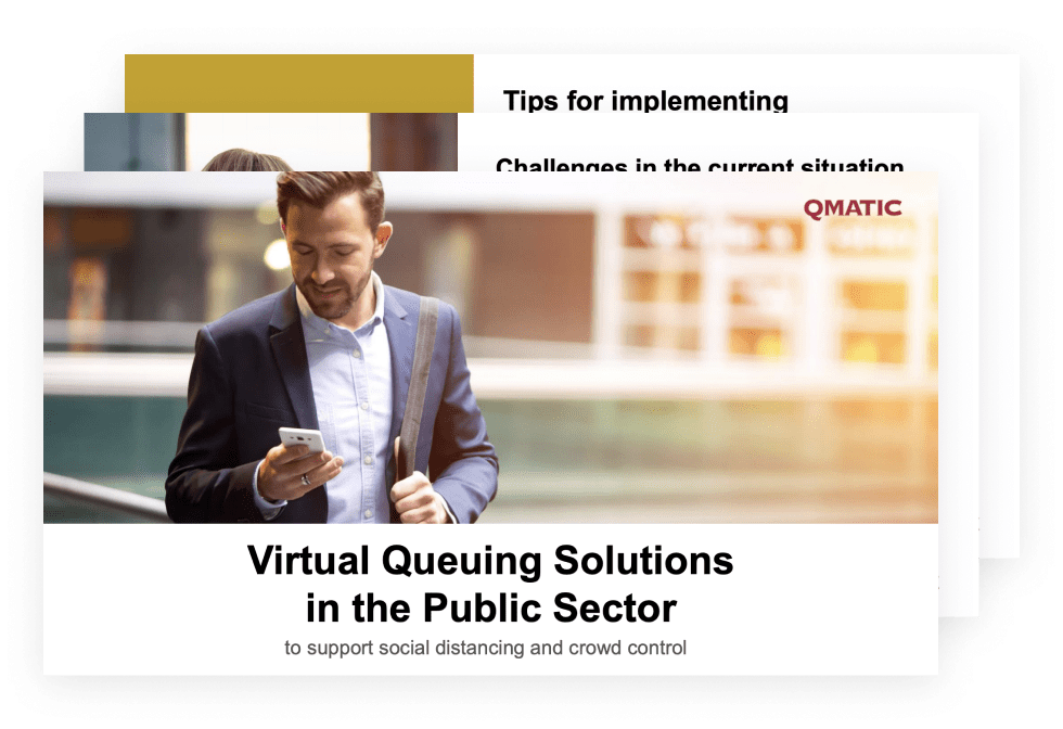 Virtual Queuing Solutions in Public Sector