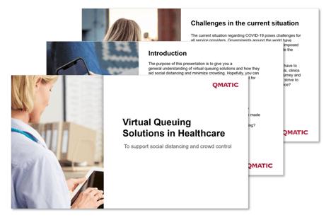 Virtual queuing guide healthcare preview