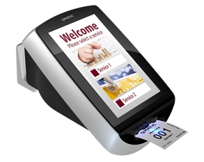 Qmatic Intro 8 Self-Service Kiosk